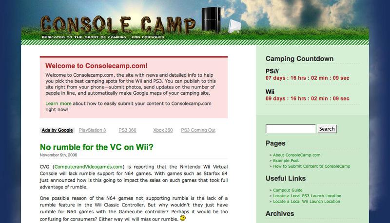 Consolecamp